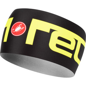 Castelli Viva 2 Thermo Headband black/yellow fluo